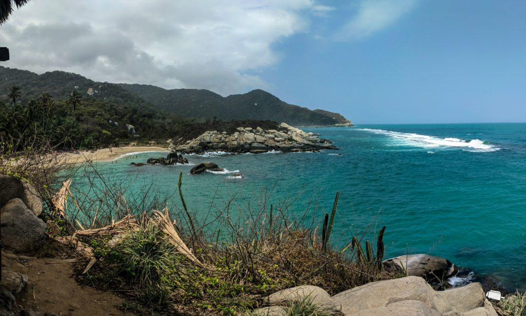 Cabo San Juan desde las hamacas